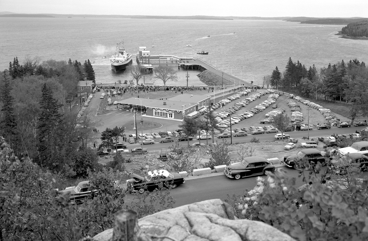 Opening Day at the Bar Harbor-Yarmouth Ferry Terminal, Bar Harbor