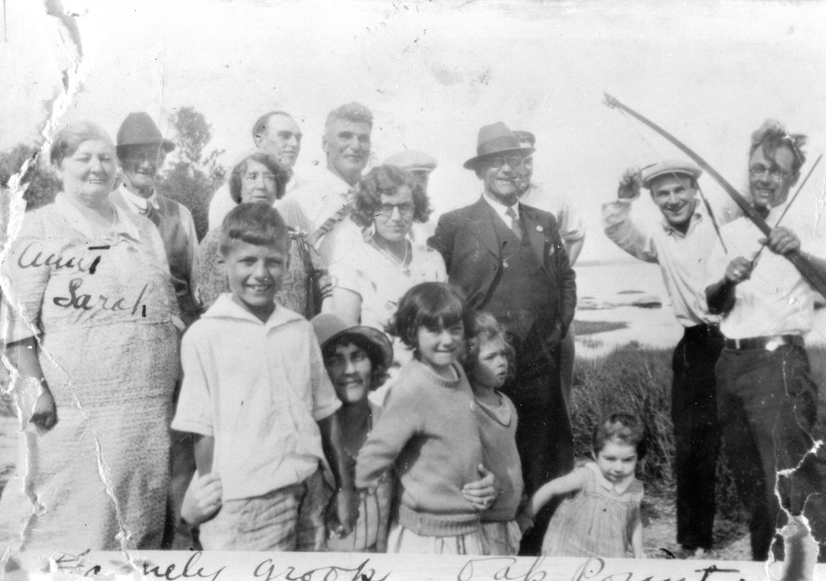 Lewis Kennison Robinson Family on a Picnic at Oak Point
