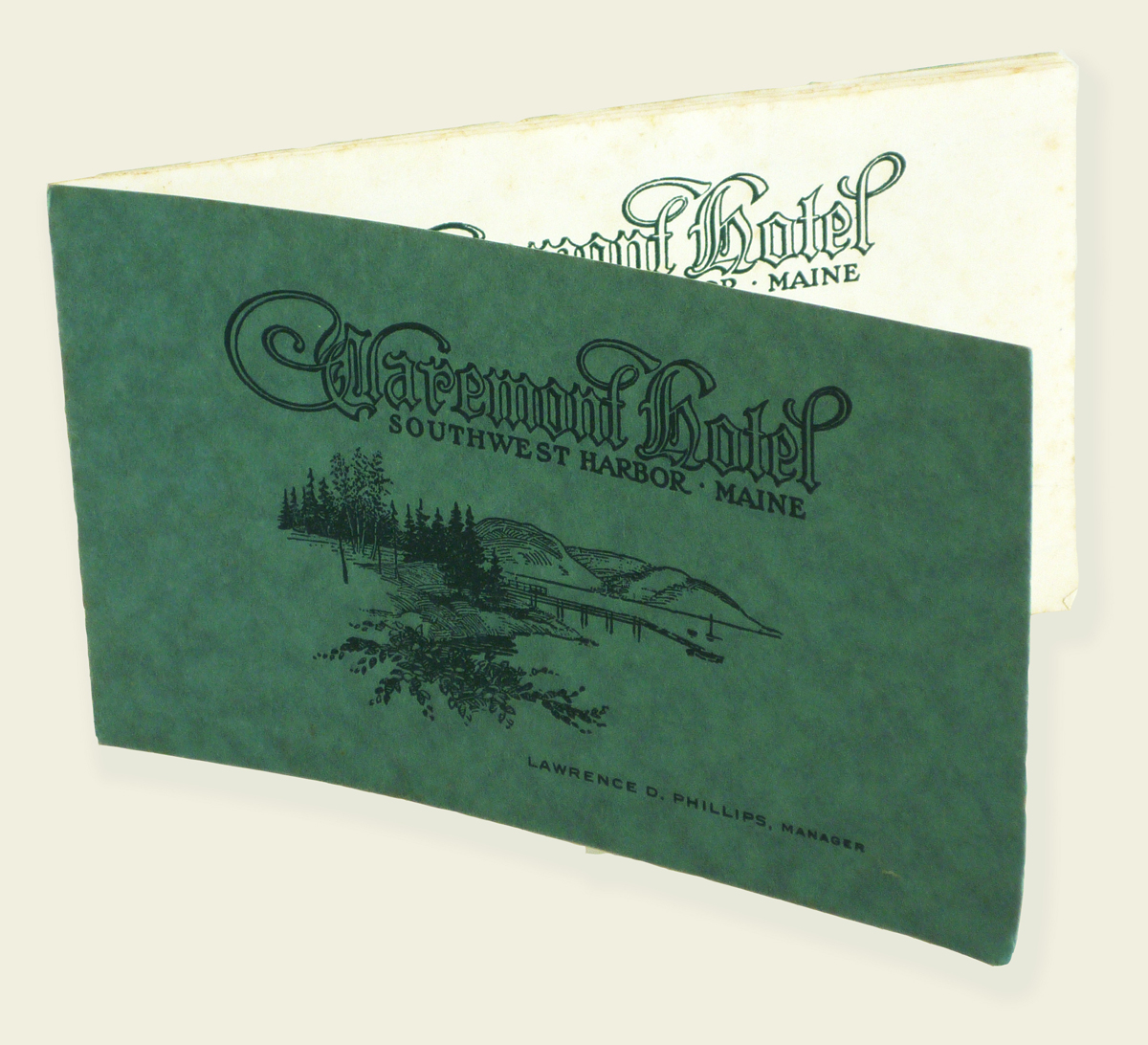 The Claremont Hotel - Brochure Cover