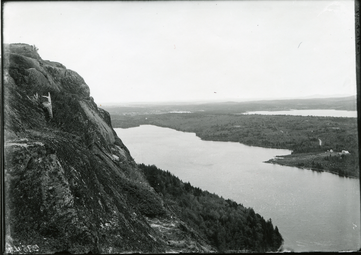 Echo Lake and Somes Sound Viewed From Beech Cliff
