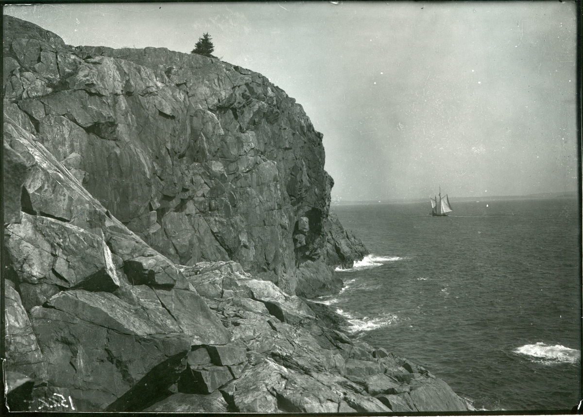 Great Head Before Creation of Acadia National Park