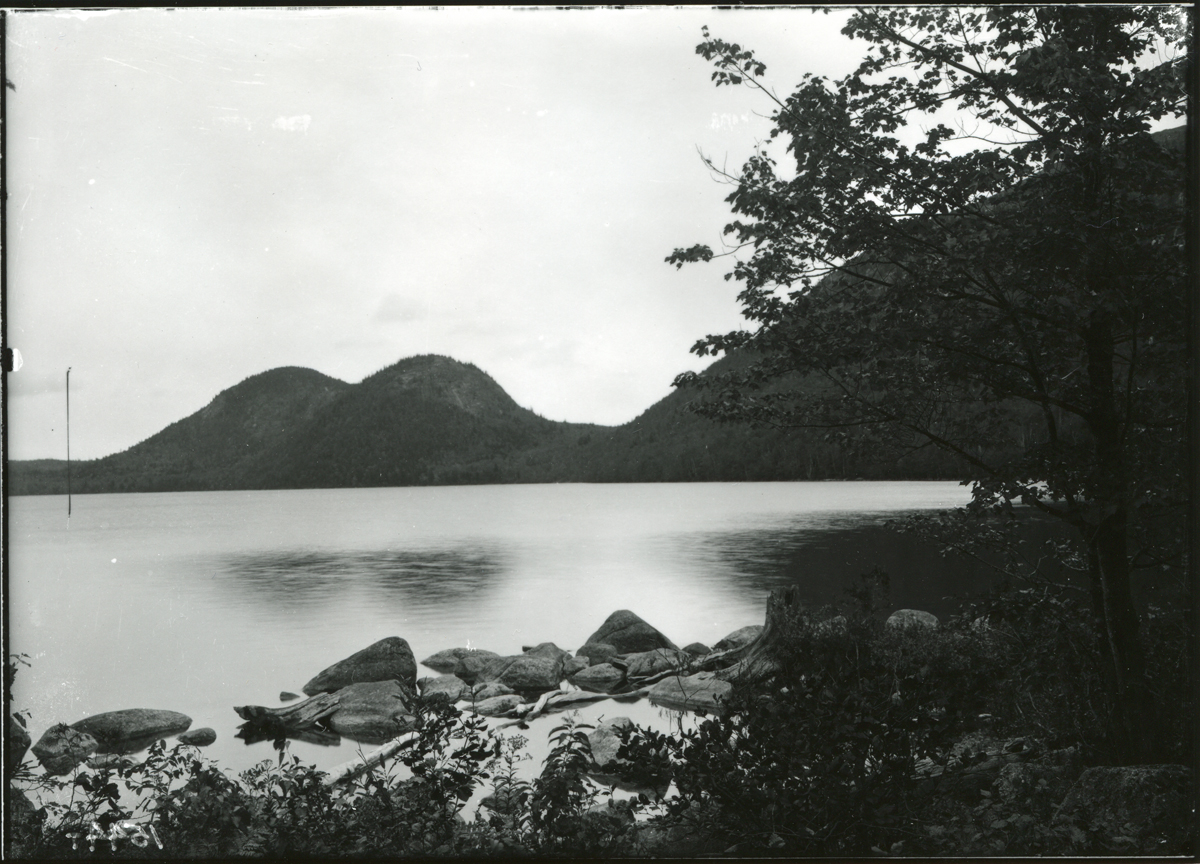 Jordan Pond and the Bubbles - Before Park Creation in 1916