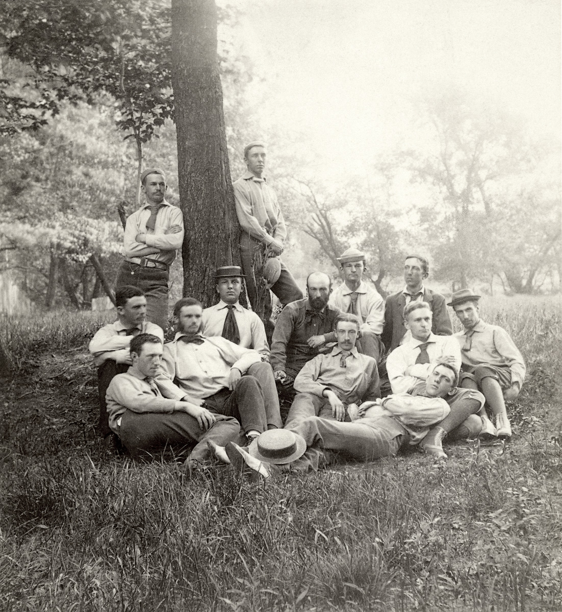 Reunion of the 1880 Members of the Champlain Society