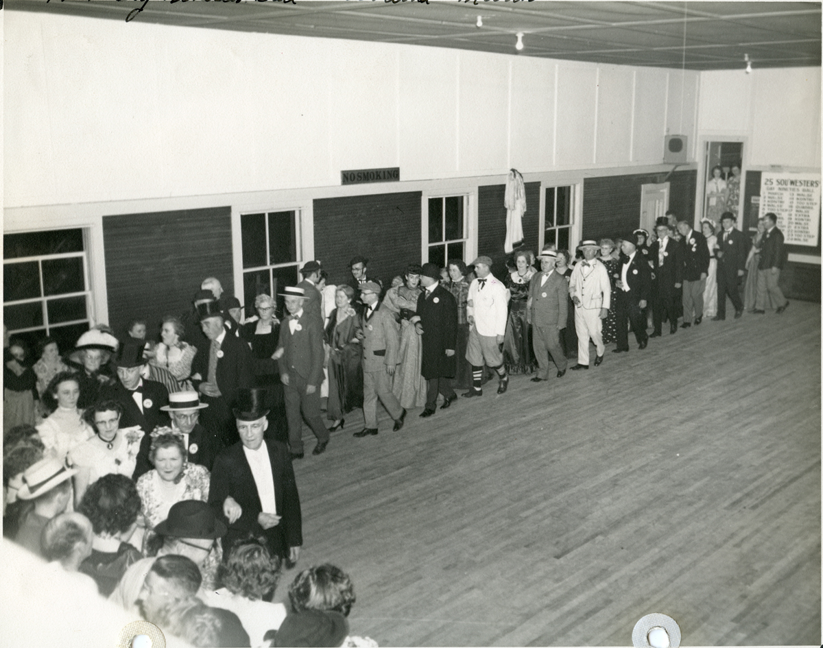 Grand March - Sou'westers Gay Nineties Ball - 1951