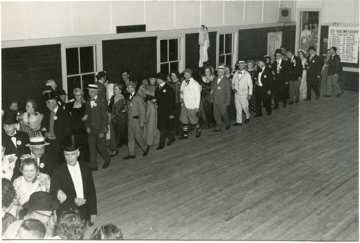Grand March - The Sou'westers Gay Nineties Ball - 1951